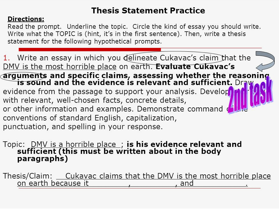 thesis statement practice worksheet This is how thesis statement throwdown was born thesis throwdown is a quirky combination of this is a great way to practice thesis statements i will try it this.