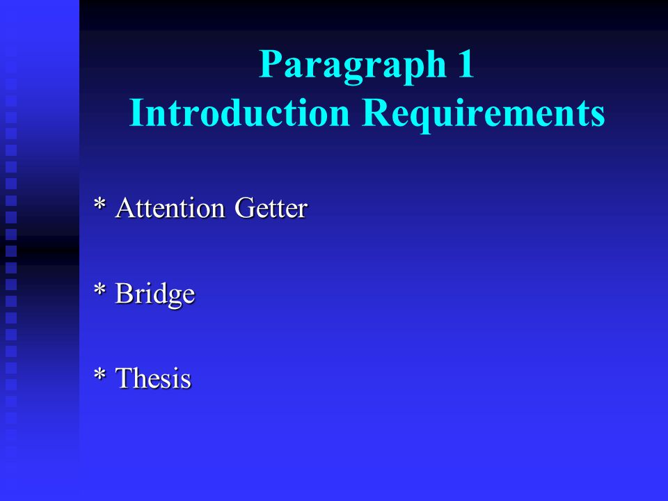 introductory paragraph format Four-step introductory paragraph format ready to dig into some nuts-and-bolts of essay writing let's talk about how to help our middle school and high school students write strong intro paragraphs.