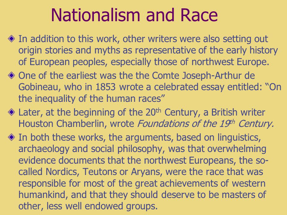 a2a223efe9c5e Gobineau Essay On The Inequality Of Human Races