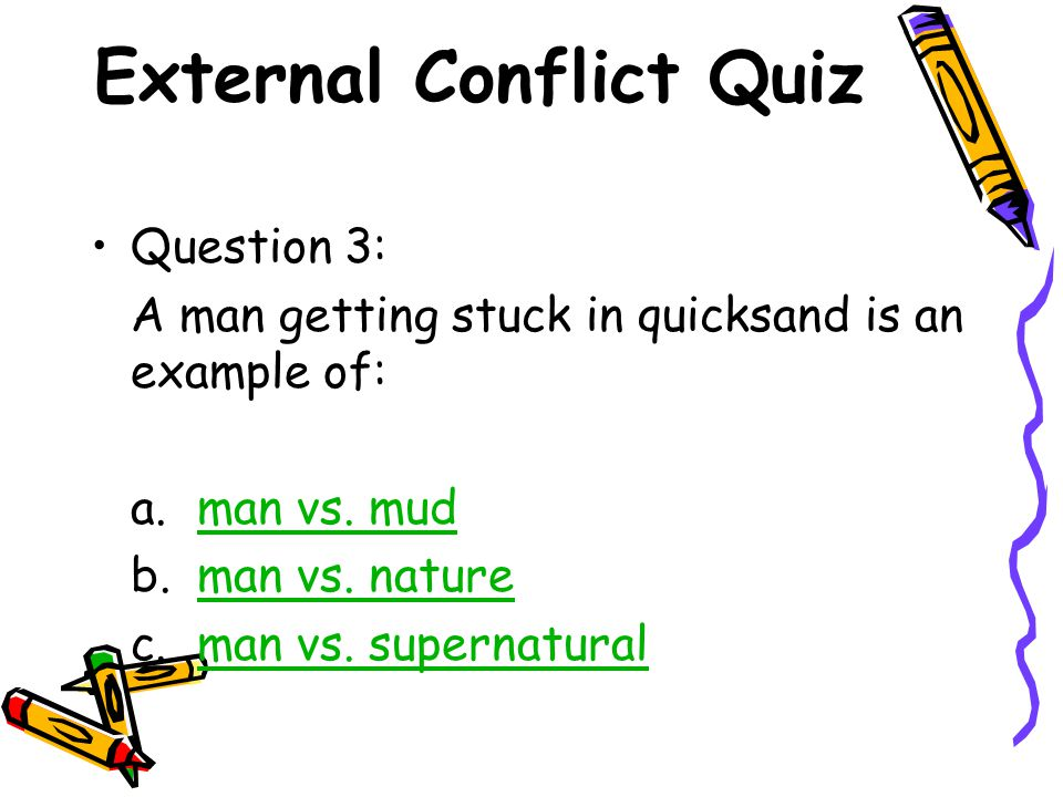 Conflict in Literature - ppt download
