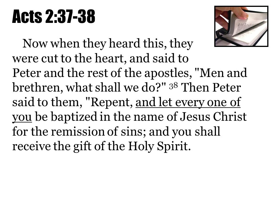Acts 2:37-38