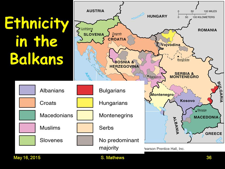Ethnicity in the Balkans