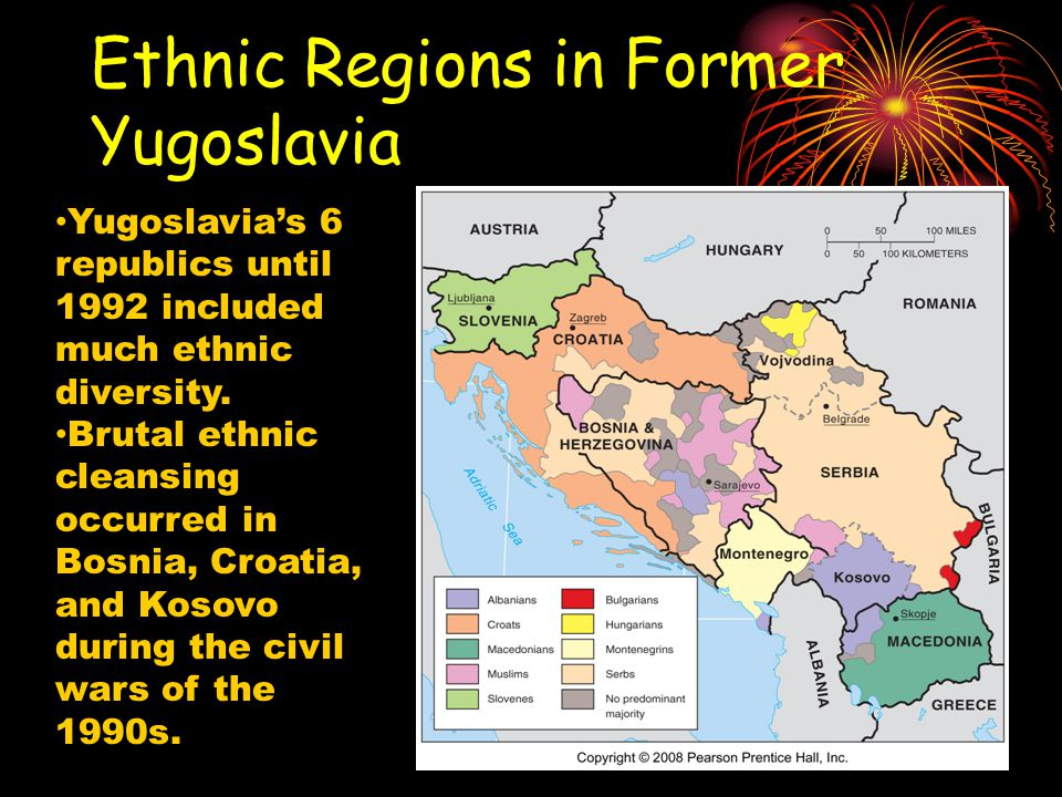 Ethnic Regions in Former Yugoslavia