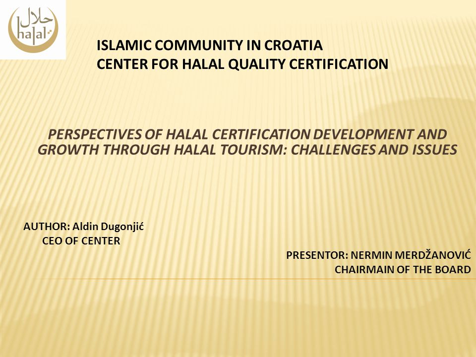 Islamic Community In Croatia Center For Halal Quality Certification