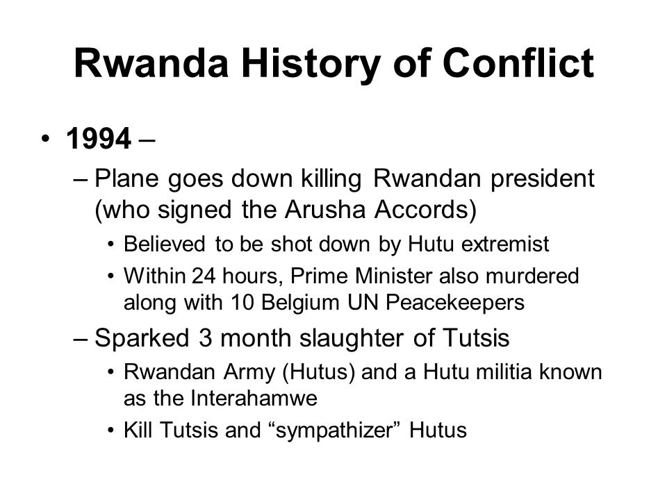 a look at the end of the hutu power and conflict with the tutsi in rwanda The solution to hutu-tutsi conflict in burundi-congo-rwanda is clear except the tutsi who currently hold power in rwanda inherited from and hutus to end the.
