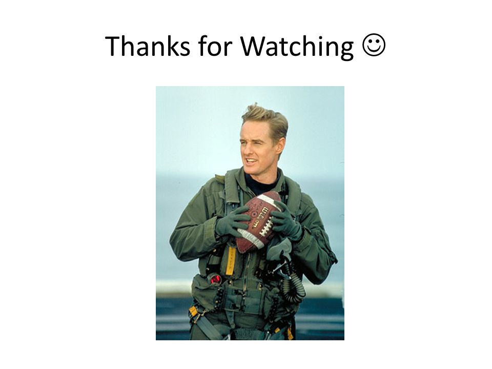 Thanks for Watching 
