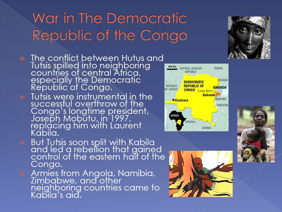 War in The Democratic Republic of the Congo
