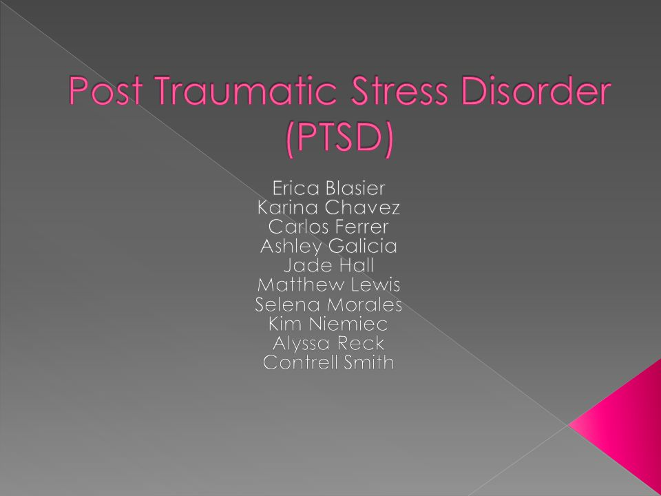 post traumatic stress disorder in relation to holden caulfield My name is jeff thompsom and i am currently a undergraduate pursueing a associate degree in history i served in baghdad, iraq in 2003 and kirkuk, iraq in 2004 i was injured during a mortar attack in kirkuk and currently am suffering from a leg injury and post traumatic stress disorder.