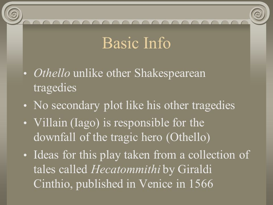 othello essays on othellos downfall Othello in the play appears to be strong and brave he is a combination of greatness and weakness othello is intelligent and confident in military matters but socially insecure, one of the reasons that lead to his downfall.