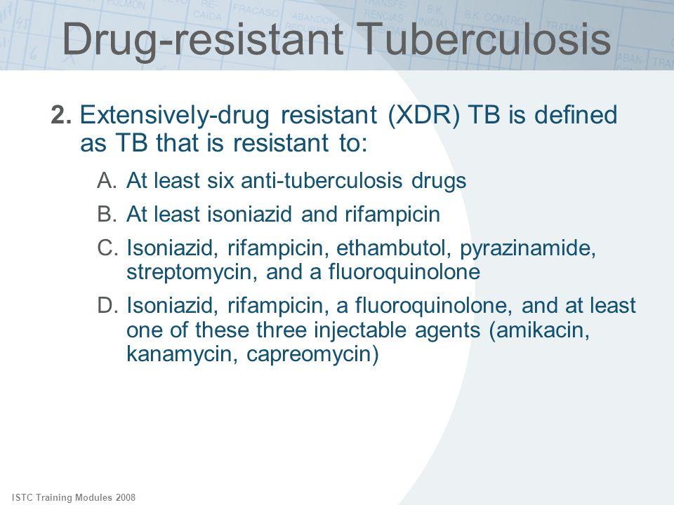 Drug-resistant Tuberculosis