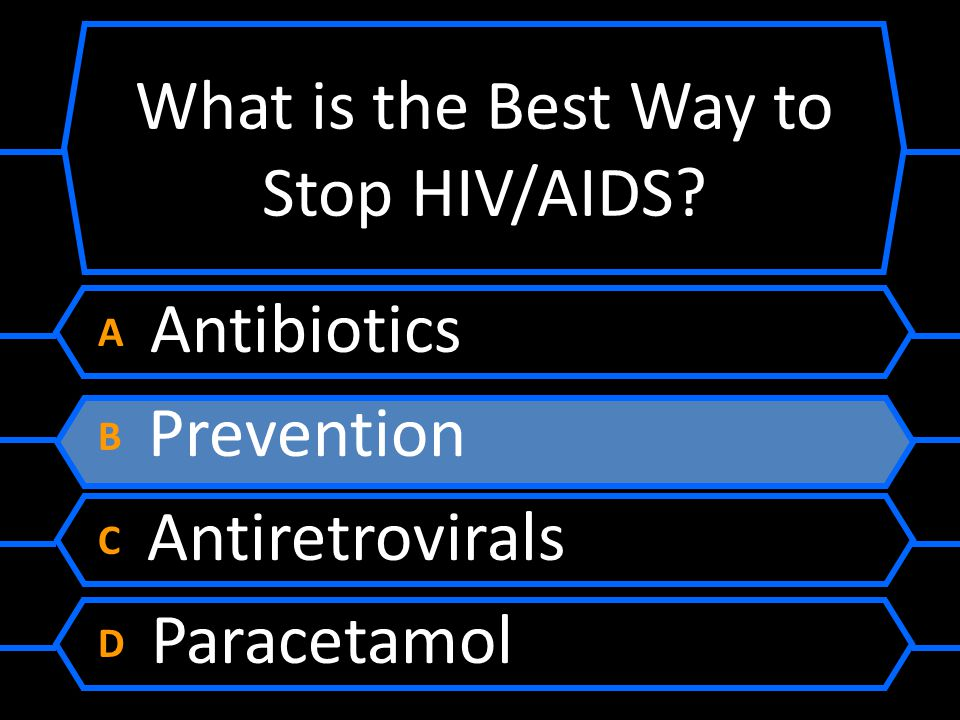 What is the Best Way to Stop HIV/AIDS