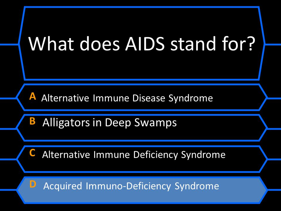 What does AIDS stand for