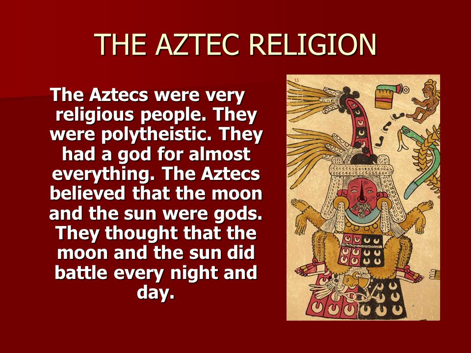 THE AZTECS. - ppt download