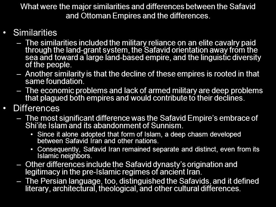 differences between land and sea based empires See parag khanna, the second world: empires and inºuence in the  thus  the distinction is not just between land-based military power and sea- based  naval.