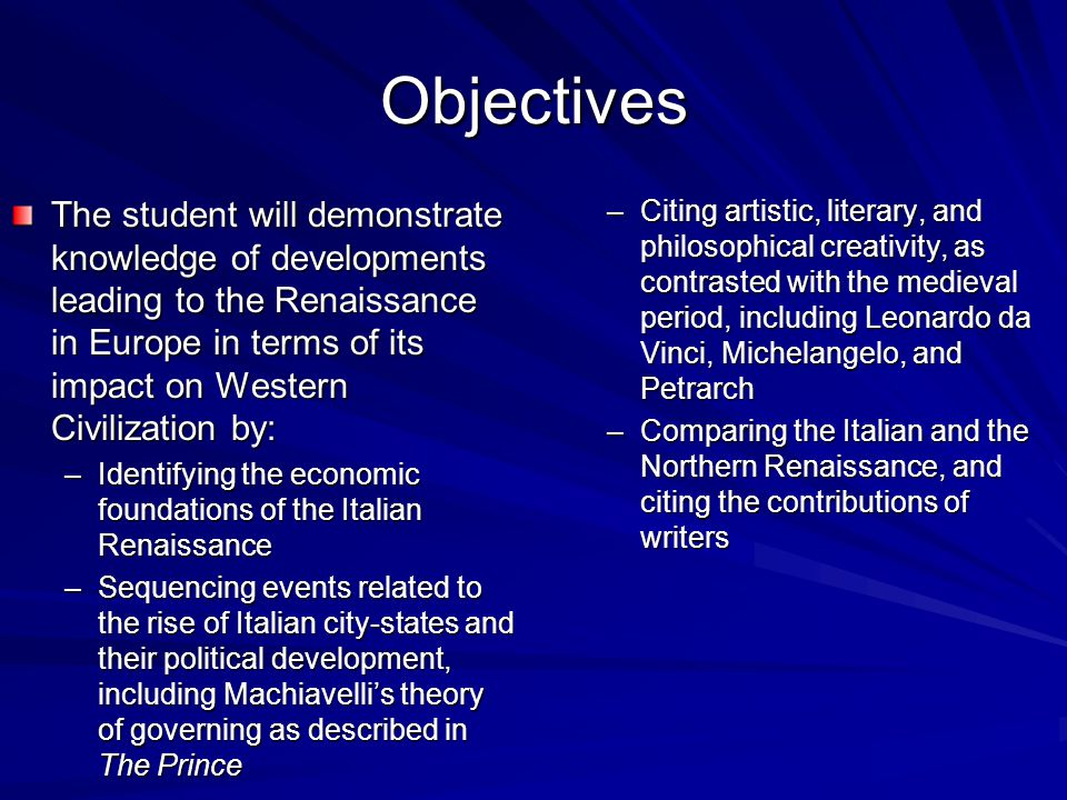 Power, Economy, Political, Religion during the Renaissance