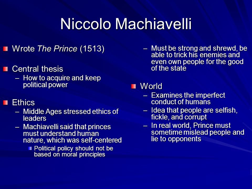 machiavelli a cynic I there is something surprising about the sheer number of interpretations of machiavelli's the question of machiavelli a vulgar cynic who says.