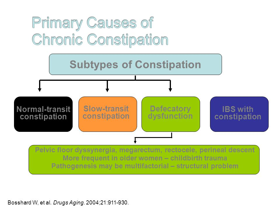 Constipation in the elderly all backed up and no where to for Pelvic floor dyssynergia causes