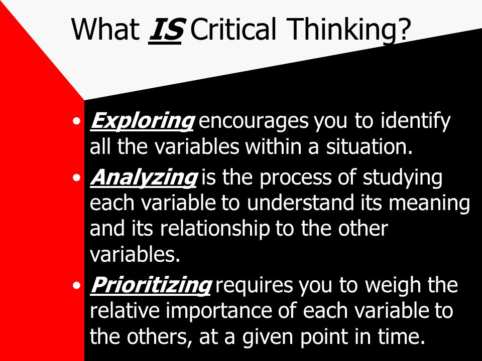 what is your definition of critical thinking A definition of critical thinking is the disposition to think clearly and accurately in order to be you will create your own purposes/audiences for your.