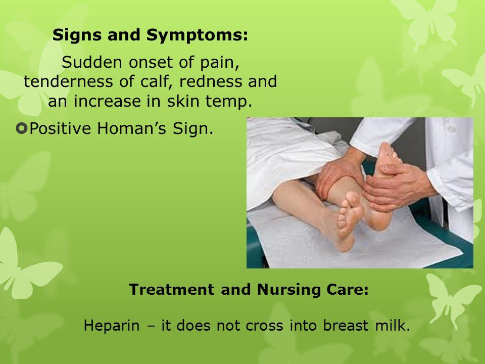 Treatment and Nursing Care: