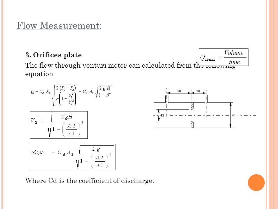 Experiment flow measurement ppt video online download