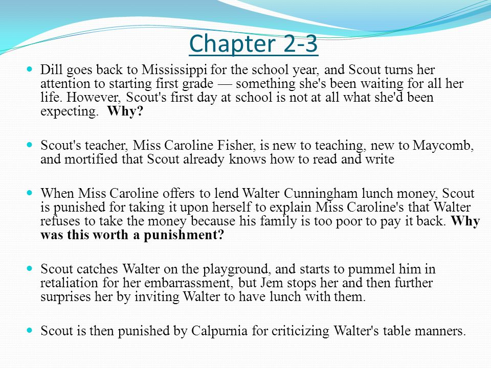 to kill a mocking bird chapter summaries ppt video online  3 chapter