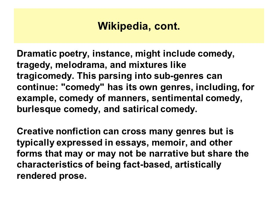 literary genres poetic genres ppt  39