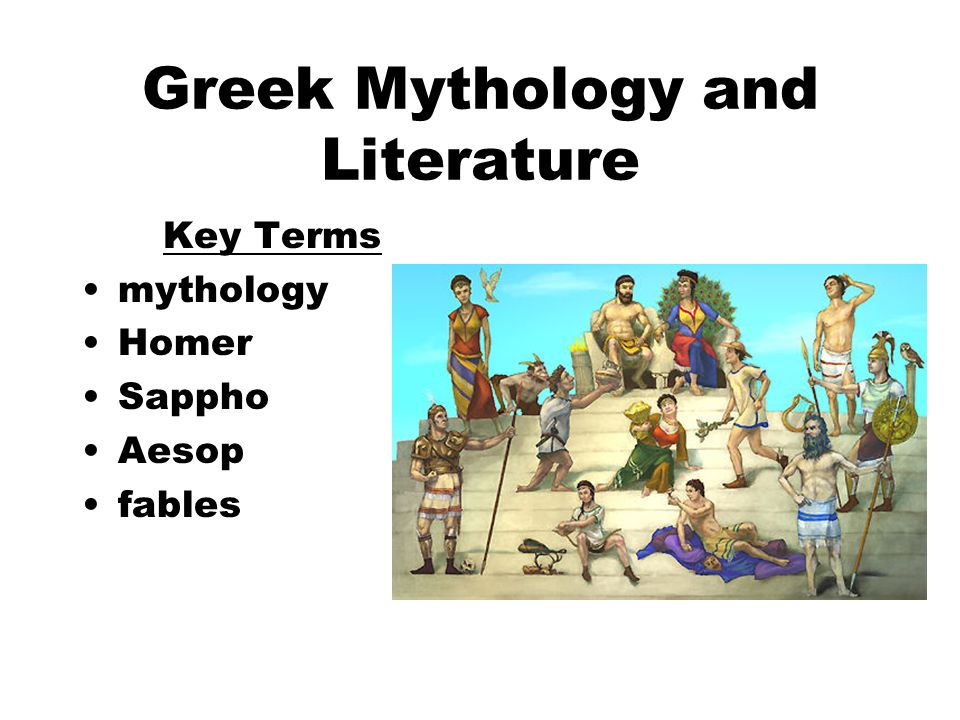 Literature greek myth i for macaria