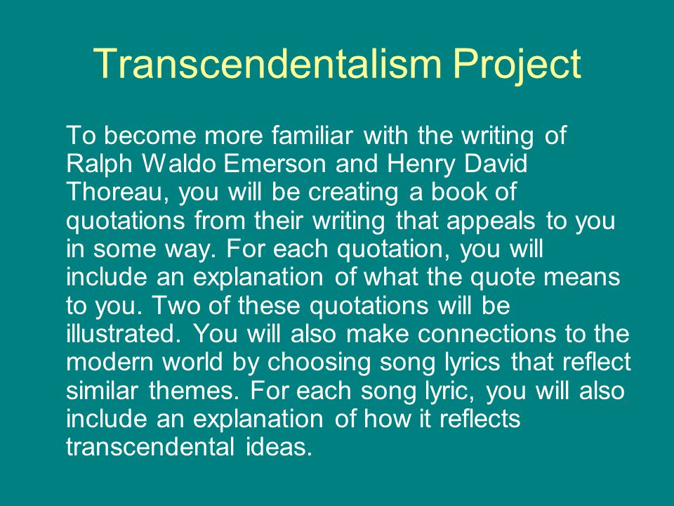 henry david thoreau and ralph waldo emerson relationship quotes