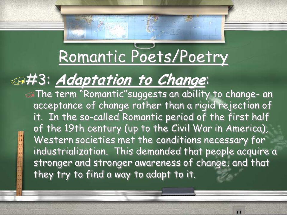 Romantic Poets/Poetry