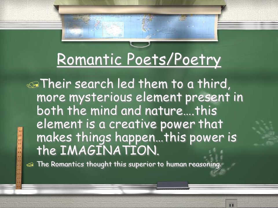 Romantic Poets/Poetry