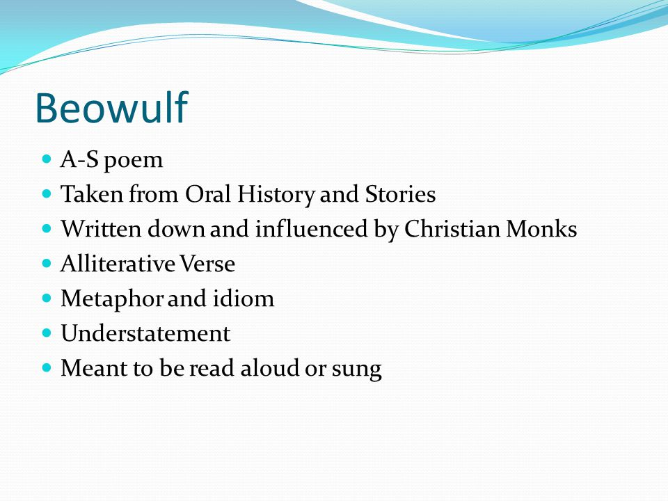 Beowulf and sir gawain essays - Beowulf essays