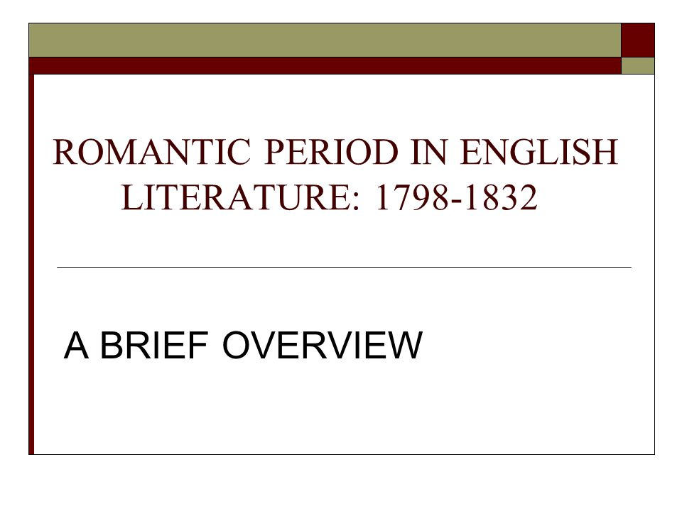 the english romantic period essay 14th june 2017 the first thing you need to consider when writing an english essay is the 1818, romantic period english literature student.