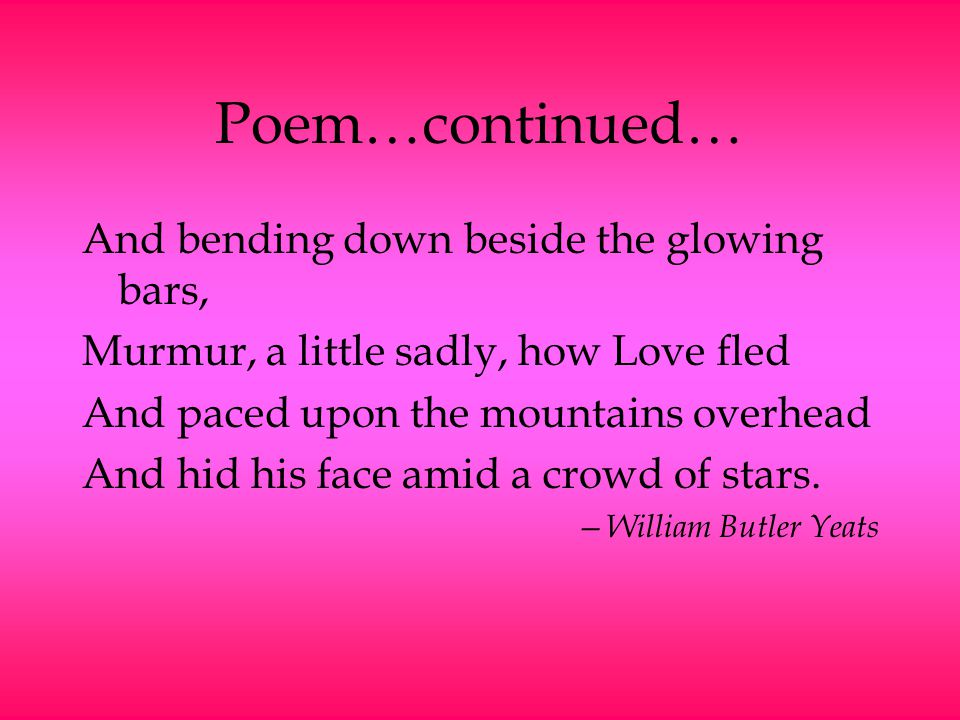 Introduction to Poetry - ppt download