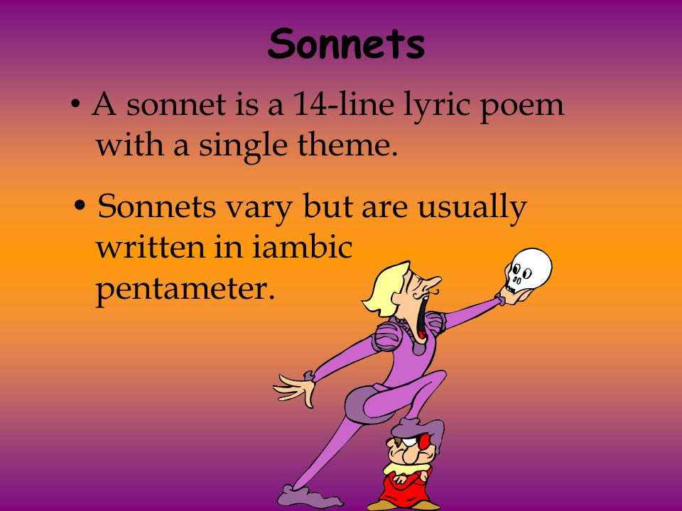 a sonnet lyric poem Which poets wrote the best sonnets ever  sappho of lesbos is perhaps the first great lyric poet  never wrote a conventional sonnet but this poem fits my.