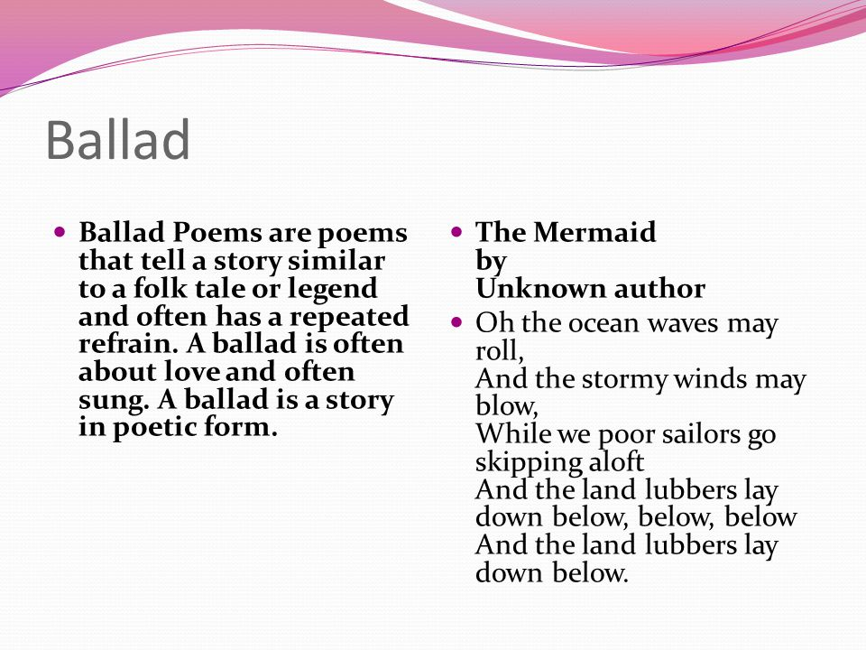 Poetry. - ppt download