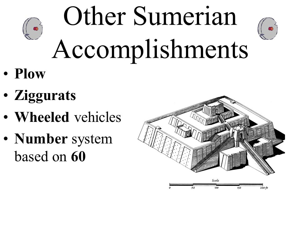Other Sumerian Accomplishments