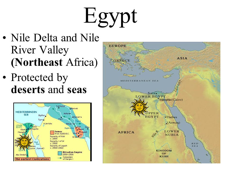 Egypt Nile Delta and Nile River Valley (Northeast Africa)