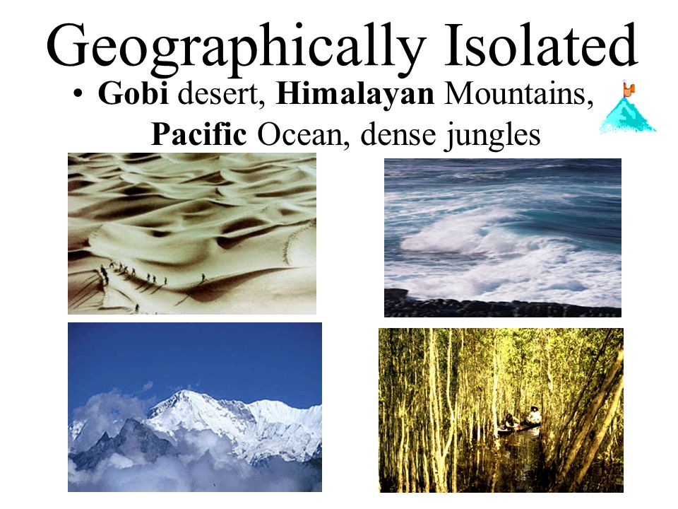 Geographically Isolated