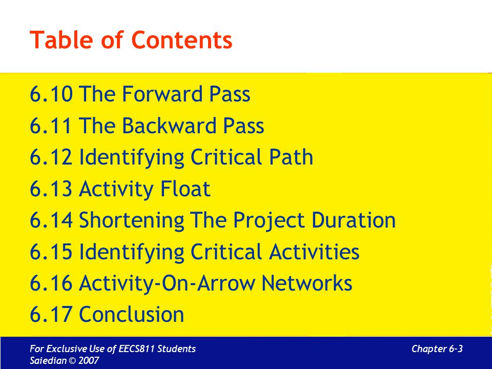 Chapter 6 activity planning mcgraw hill education isbn for Table 6 4 cobol conversion project schedule