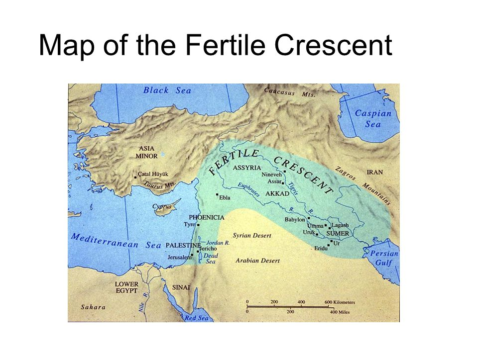 fertile crescent map today - photo #13