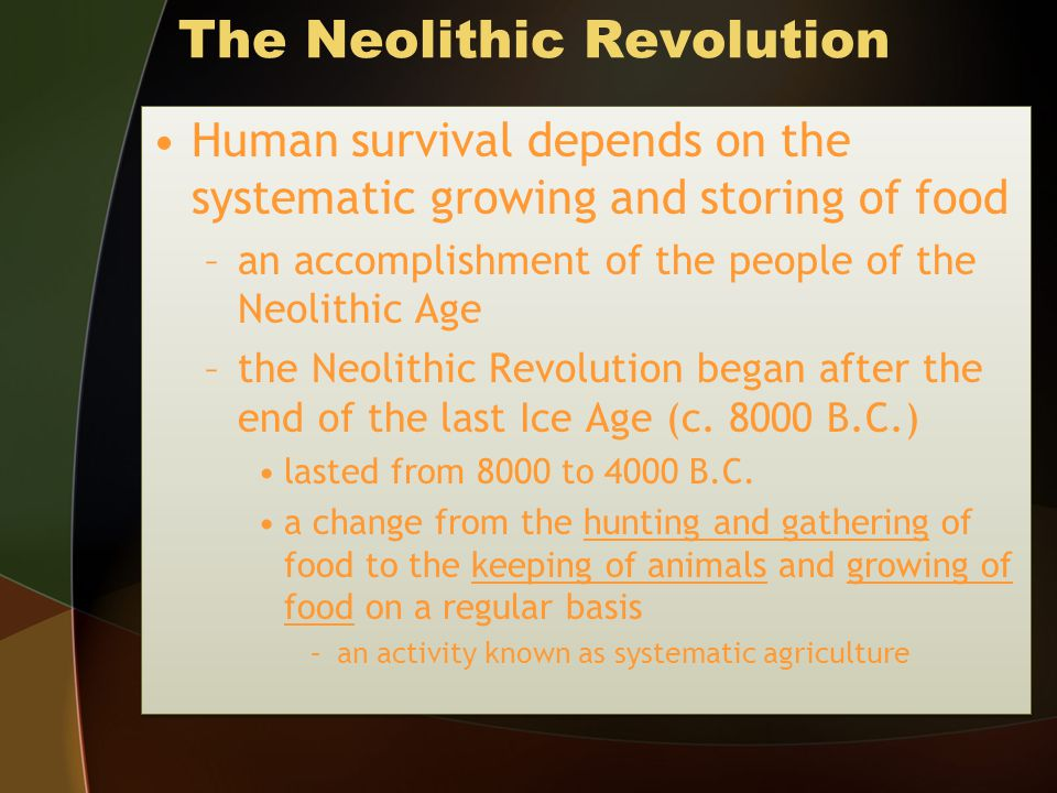 after the neolithic revolution Sometime after the neolithic revolution patriarchy emerged patriarchy refers to a social system in which males have more respect, authority, or control than females patriarchy refers to a social system in which males have more respect, authority, or control than females.