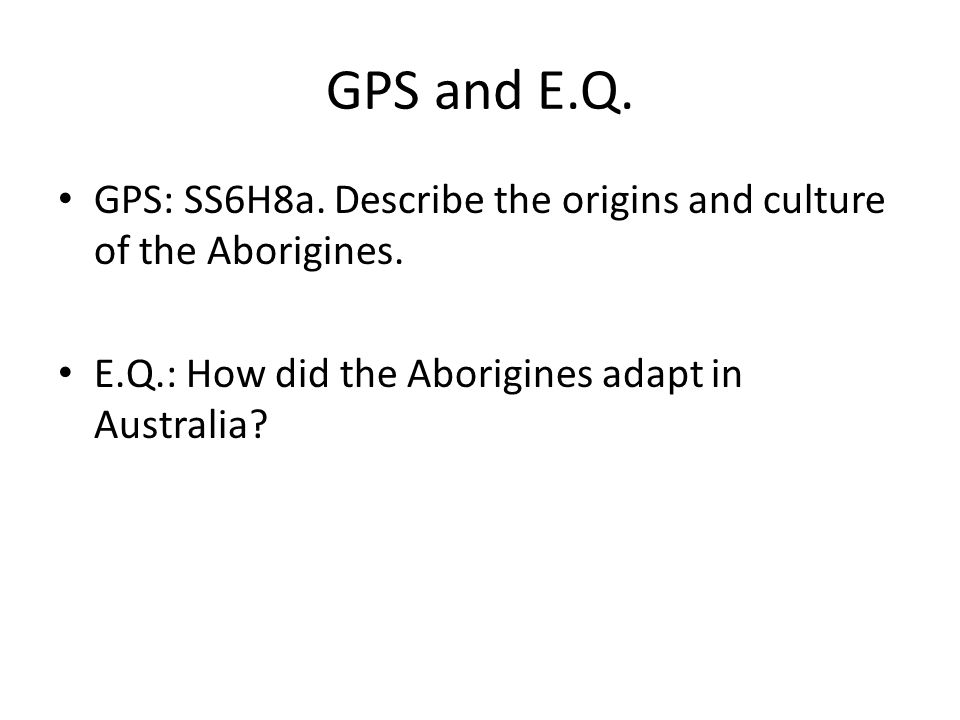an analysis of aborigines a cultural description Exploitation of aboriginal culture for economy an analysis of statistical of aboriginal culture for economic purposes that means that not.