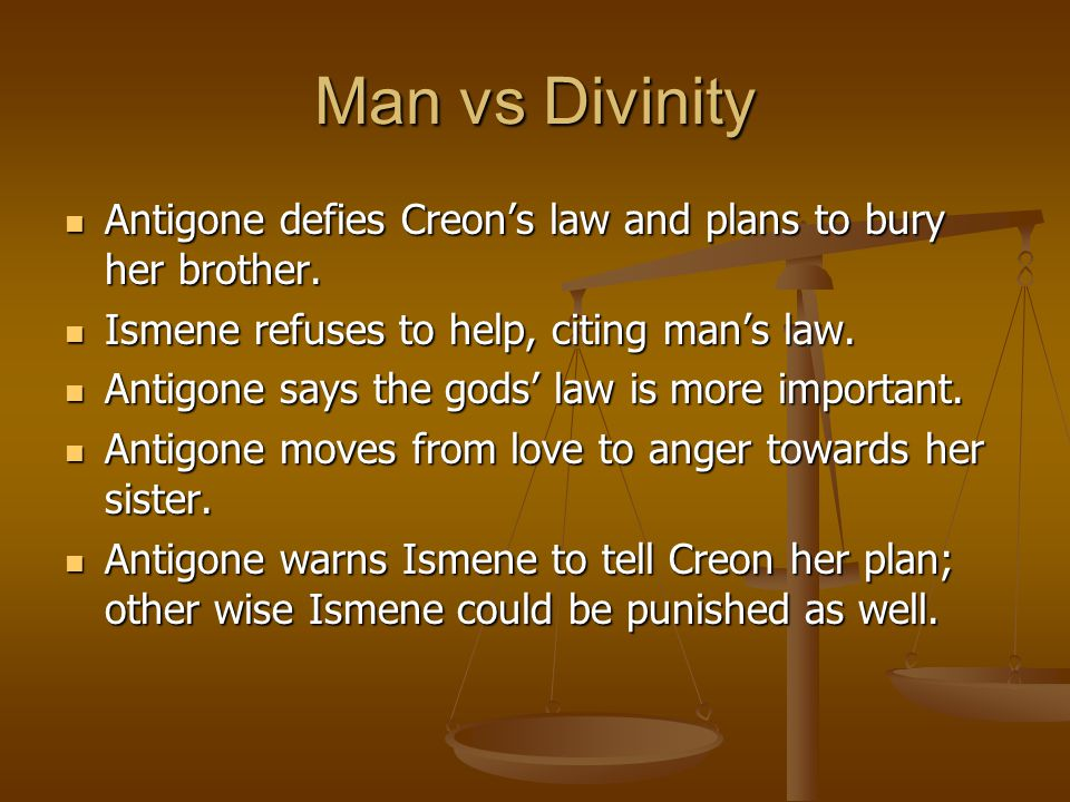 what is the penalty for defying creons decree