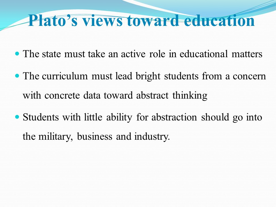 plato republic education quez Ever wanted to know about the quotes talking about education in the republic ,  pagination (the standardized way in which every text of plato is divided.