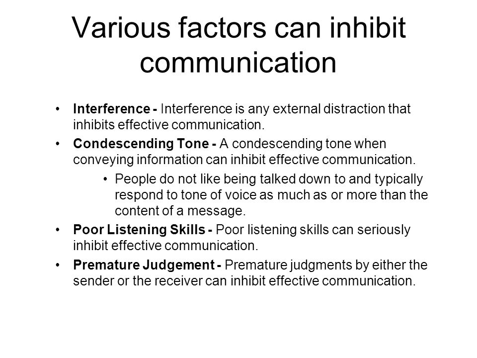 different factors of communication In communication styles, influence tactics, and leadership styles  always been viewed as different and unique sets of people these differences have, to a.