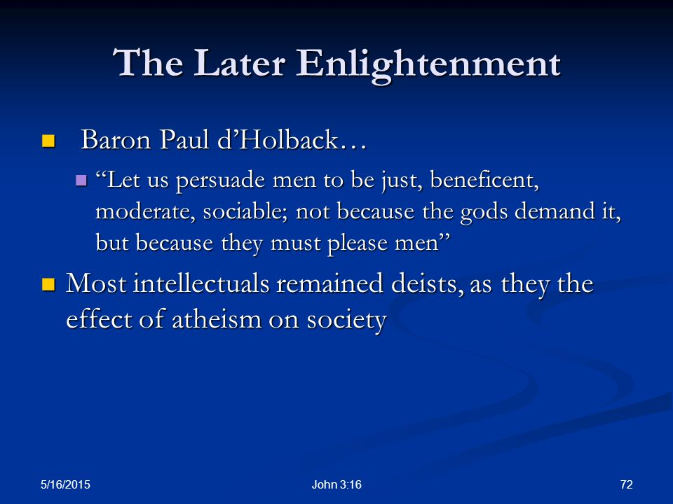 The Eighteenth Century: An Age of Enlightenment - ppt download