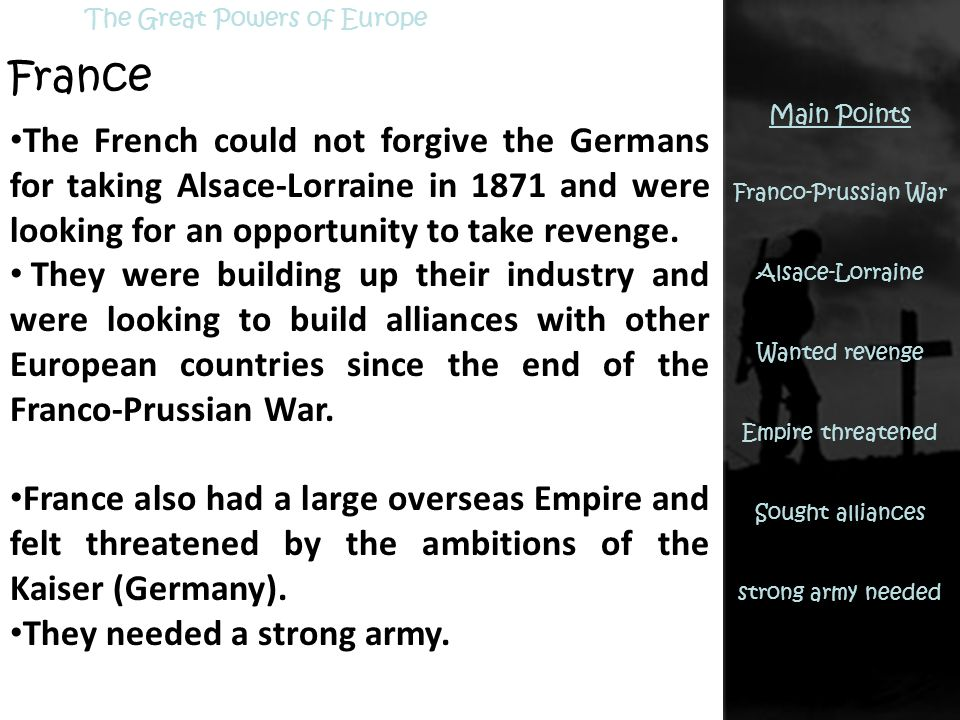 Causes of World War One. - ppt download