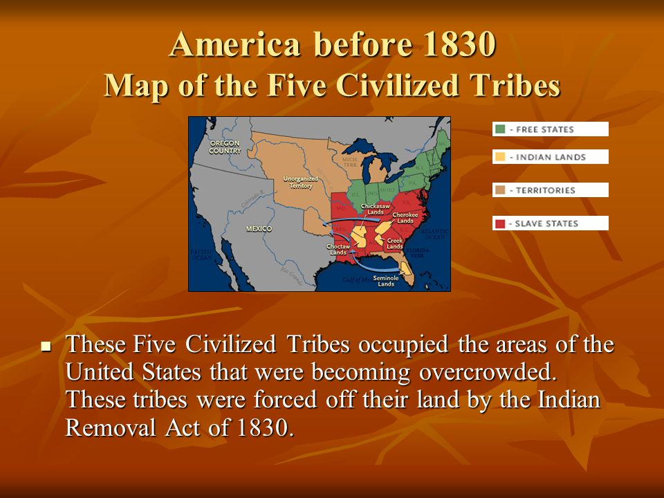 The Trail Of Tears And The Five Civilized Tribes Of The United States