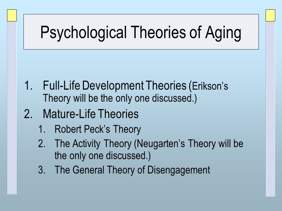 disengagement theory cumming and henry engagement essay View disengagement research papers on academiaedu disengagement theory was originally developed in the 1960's as a psychotherapy (cumming & henry 1961.