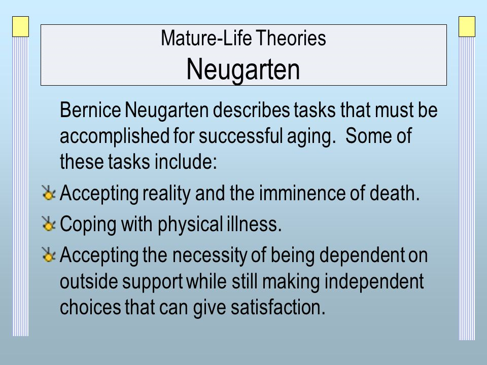 Disengagement Theory of Aging Explained